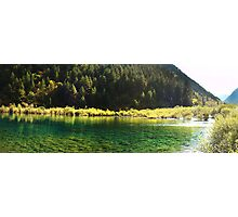 Picturesque Of Calm Water Photographic Print
