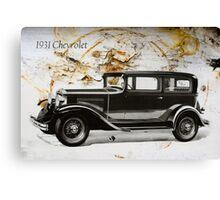 1931 Chevrolet Canvas Print