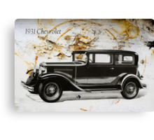 1931 Chevrolet Canvas Print