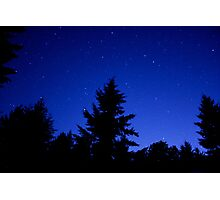 Cobalt Blue Sky Photographic Print