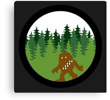 Wookabout - Solo Space Ape -  Color Version Canvas Print