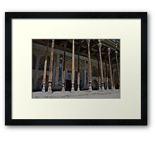 Bukhara Mosque Framed Print