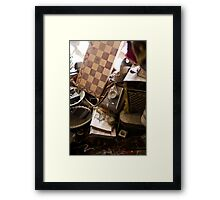 Treasures within the Bukhara Ark Framed Print