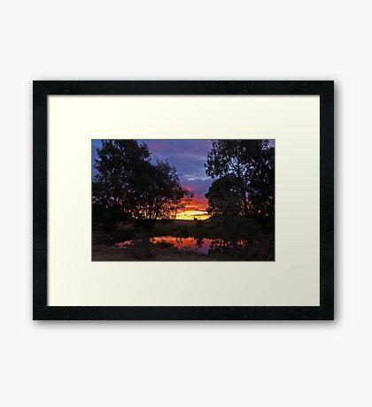 My Sunset Framed Print
