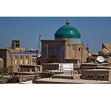 Rooftops of Khiva Photographic Print