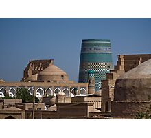 Khiva rooftops Photographic Print
