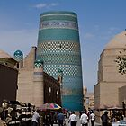 Khiva street by Gillian Anderson LAPS, AFIAP