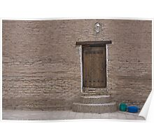 Khiva doorway Poster