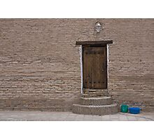Khiva doorway Photographic Print