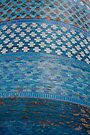 Tiles of the Khiva Unfinished Minaret by Gillian Anderson LAPS, AFIAP