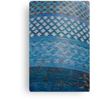 Tiles of the Khiva Unfinished Minaret Canvas Print