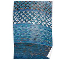 Tiles of the Khiva Unfinished Minaret Poster