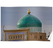 Green dome Poster