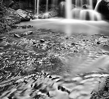 Sydney waterfalls - Hunts Creek #2 by vilaro Images