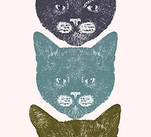 3 Kittens by penwork
