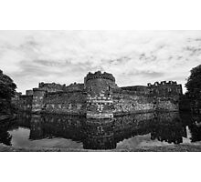 Beaumaris Castle B/W edit Photographic Print
