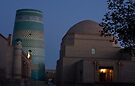 Khiva street at dawn by Gillian Anderson LAPS, AFIAP