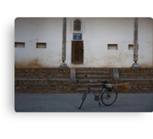 Streetsweeper's bike Canvas Print