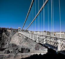 Clifton Suspension Bridge - HDR Selective Colour by HKart