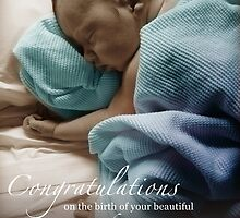 Newborn Baby Boy Remembering His Sister by CarlyMarie