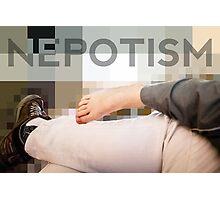Nepotism Photographic Print