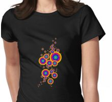círculos multicolor, circles Womens Fitted T-Shirt