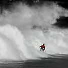 Outrunning the Foam - Freshwater, Sydney by BGpix