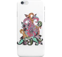 Abstract color Lotus iPhone Case/Skin