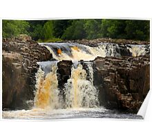 Low Force, Upper River Tees, England Poster