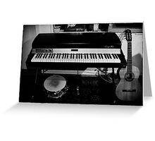 Viva la musica - one Greeting Card