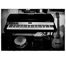 Viva la musica - one Photographic Print