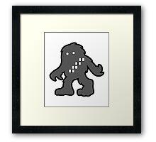 Solo Space Ape - Monochrome  Framed Print