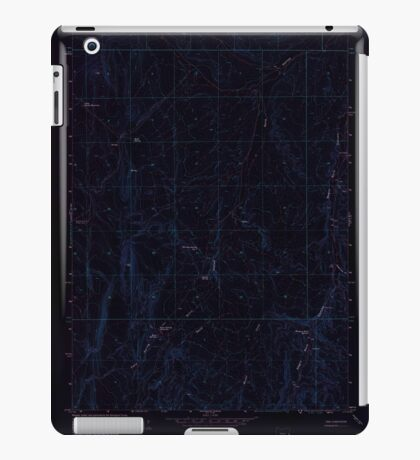 USGS Topo Map Oregon Kane Spring Gulch 280371 1967 24000 Inverted iPad Case/Skin