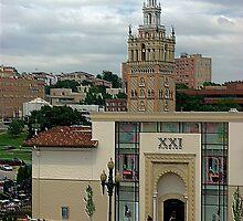 """""""Giralda Tower"""" Kansas City, Missouri by TeeMack"""
