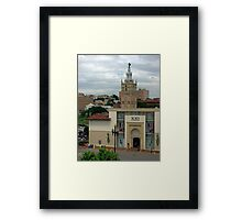 """Giralda Tower"" Kansas City, Missouri Framed Print"