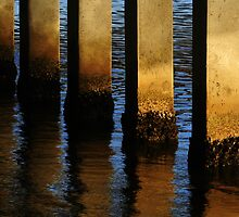 Pier Reflections From Jupiter by JKKimball