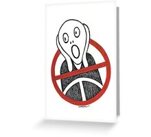 Traffic Monster Greeting Card