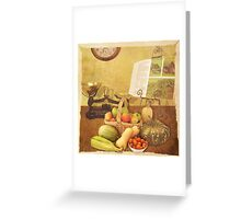 Autumn Harvest Greeting Card