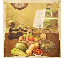 Autumn Harvest Photographic Print
