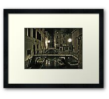 Night in Venice Framed Print