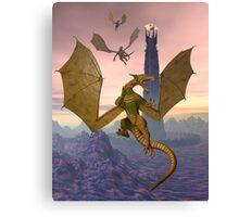 Dragon Flight Canvas Print