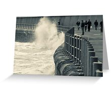 Wave-Watcher Greeting Card