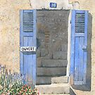 Doorway, Sainte-Croix, France by ian osborne