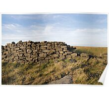 Peakland Dry Stone Wall Poster