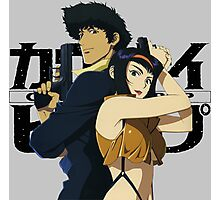 cowboy bebop spike spiegel faye edward jet anime manga shirt Photographic Print