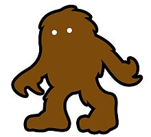 the Bigfoot -  Design by NoirGraphic.  by NoirGraphic