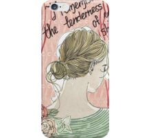 young lady iPhone Case/Skin
