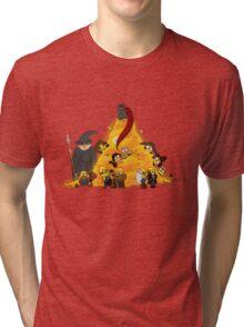 Despicable Hobbit... & Dwarfs  Tri-blend T-Shirt