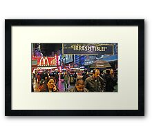 42nd Street - New York City Framed Print