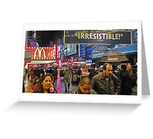 42nd Street - New York City Greeting Card